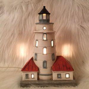 Chicago Harbor Light 1893 Lighted Lighthouse 🎁
